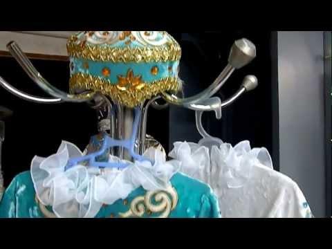 Cмотреть видео онлайн Детские казахские платья на годик www.richton.kz.MP4