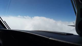 Piper PA46 Mirage IFR FL160 Top of clouds