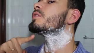 Solavancos pescoço do fora obter como barbear de