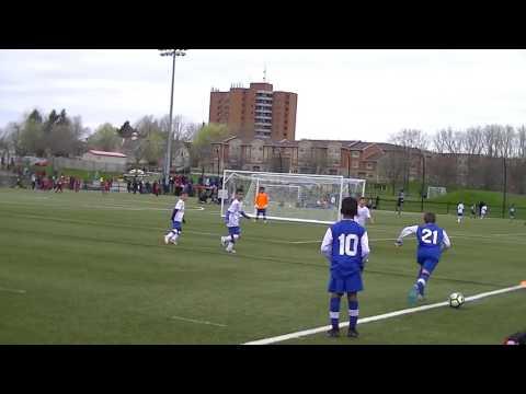Milton Magic Blue (15) Vs Cambridge (0)- 1st Half-Apr 2017- Guelph Tournament
