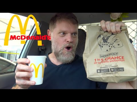McDonalds Small Big Mac? + Cheeseburger $5.95 Meal Deal Mukbang