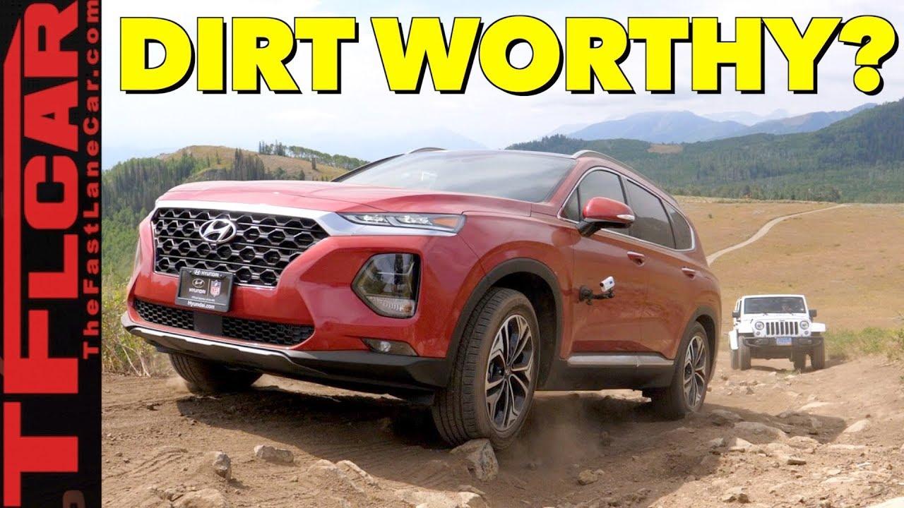هيونداي سنتافي 2019 اوف رود على الطرقات الوعرة 2019 Hyundai Santa Fe Off-Road Review