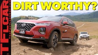 2019 Hyundai Santa Fe Off-Road Review: Does a Locking Center Diff Help?