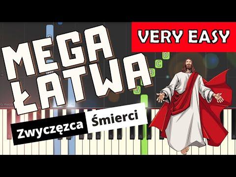 🎹 Zwycięzca śmierci - Piano Tutorial (MEGA ŁATWA wersja) 🎹