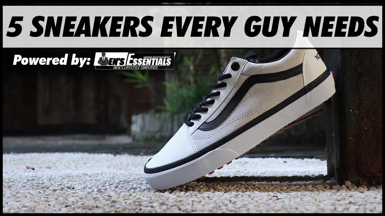 Must Have Sneakers for INDIAN Men