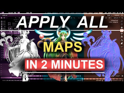 Blender 2.8 : Principled BSDF - Apply All Maps (In 2 Minutes) thumbnail