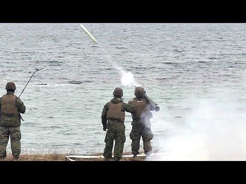 FIM-92 Stinger Missile Shoots Down Drone
