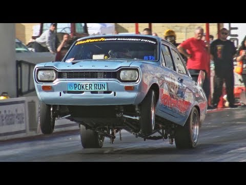 Cosworth YB Mk1 Escort runs 8s all day!