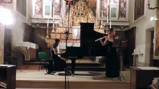 Ian Clarke Touching the Ether - Natasha Loomis, flute and Riko Higuma, piano