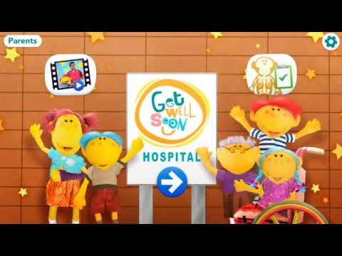 Get Well Soon Hospital App Preview