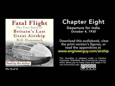 Fatal Flight audiobook: Chapter Eight: Departure for India (10/14)