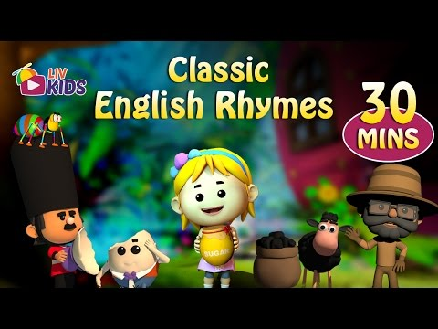 Classic English Rhymes Collection | Non Stop Compilation | LIV Kids Nursery Rhymes and Songs | HD