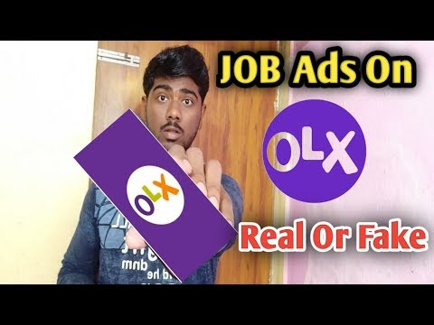 Job Ads on OLX are real or fake || Live call interaction with advertiser.