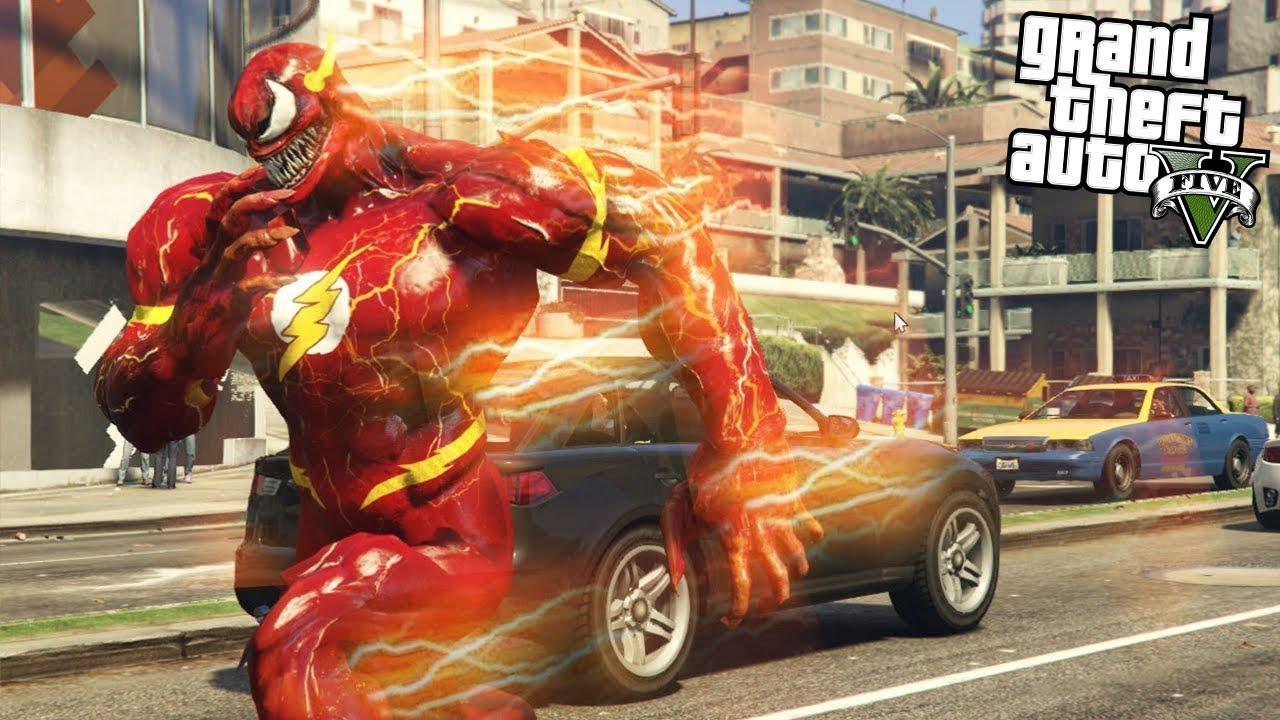 GTA 5 Siêu Tốc Độ the flash Đi Cướp Ngân Hàng Bỏ Chạy Với Tốc Độ 1000km/h Và Cái kết