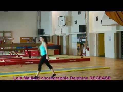 Delphine REGEASE chorégraphie gymnastiqueLola Maillard