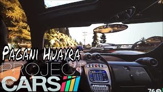 BenQ W1080ST+ Test With Project Cars On California Highway Pagani Huayra Super FOV