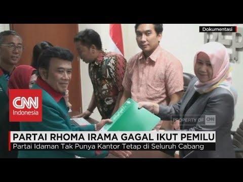 Partai Rhoma Irama Gagal Ikut Pemilu