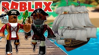 BECOMING A PIRATE IN ROBLOX! - ROBLOX PIRATE WARS