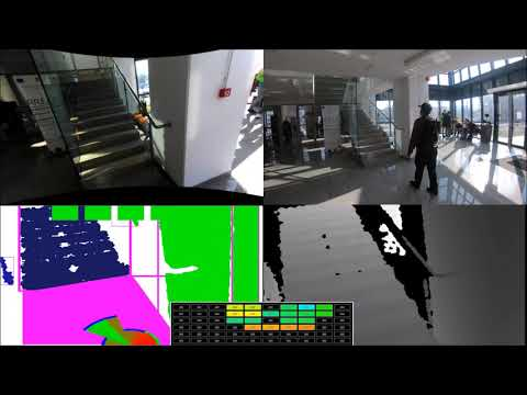 Indoor navigation in Bucharest using Sound of Vision