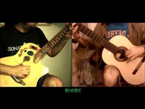 Bach - Crab Canon (Canon Cancrizans); Guitar Duo