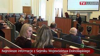 Najnowsze informacje z Sejmiku Województwa Dolnośląskiego