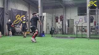 쇼케이 스포츠 베이스볼 포수 송구스탭 펑고 연습