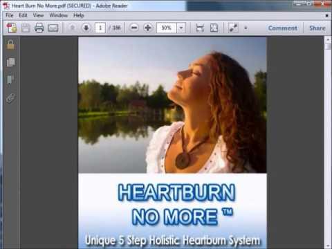 Heartburn No More Jeff Martin SCAM REVIEW: pdf free download