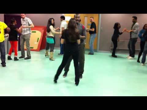 University of Bradford Africa Arts Society - Bachata dance☆