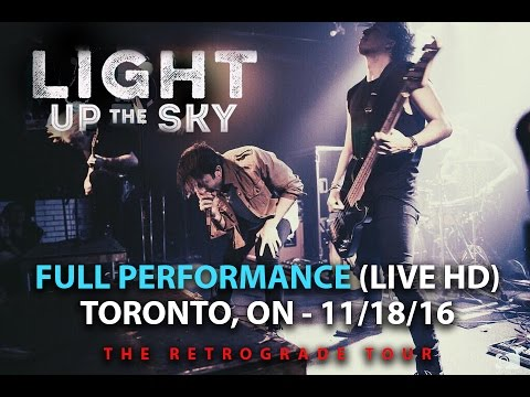 Light Up The Sky - FULL SET LIVE [HD] - The Retrograde Tour