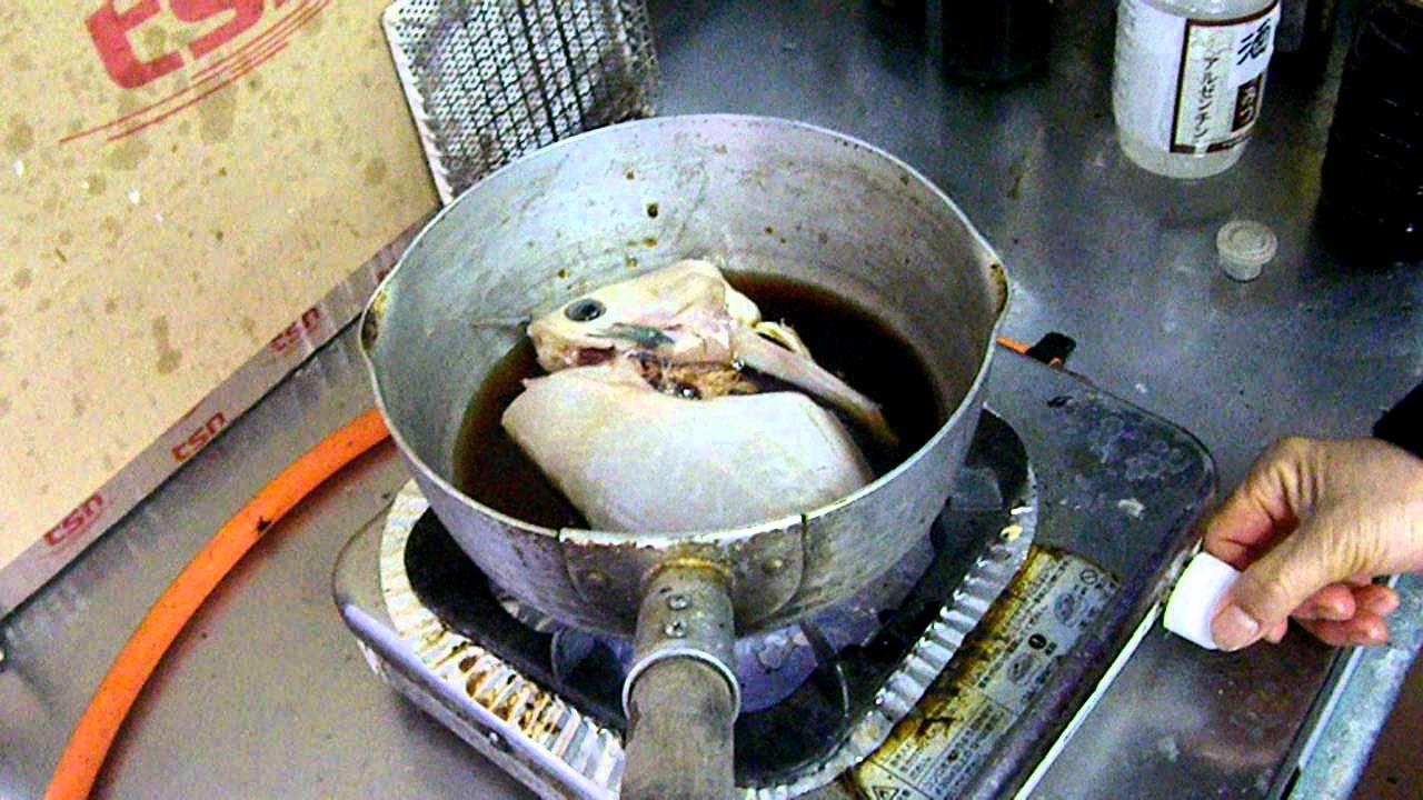 煮付け ウマヅラハギ ウマズラハギの煮付けの作り方