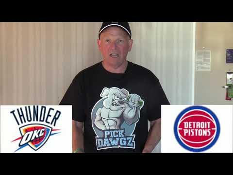 Oklahoma City Thunder vs Detroit Pistons 3/4/20 Free NBA Pick and Prediction NBA Betting Tips