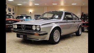 1982 Alfa Romeo Alfasud Sprint Veloce 1.5 Trofeo Edition: number 154 of 200