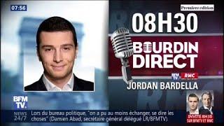 Jordan Bardella est l'invité de Bourdin Direct