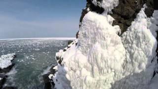 マルチヘリで巡る厳冬の北海道