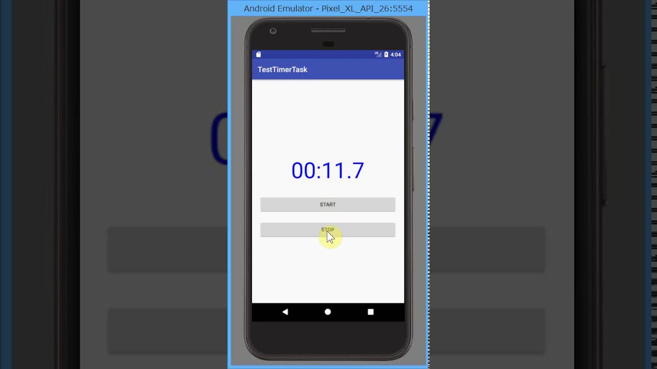 Android] カウントアップするタイマー、ストップウォッチをTimerTaskで作る