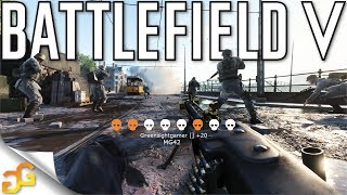 Battlefield 5 Aggressive MG42 Game [Battlefield V Multiplayer Gameplay]