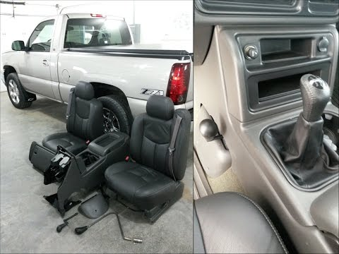 how to install full center console manual 4wd silverado 03 06 rh youtube com