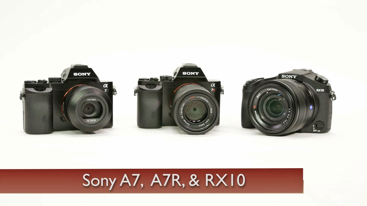 Sony A7 & A7R Full-Frame and RX10 Cameras - YouTube