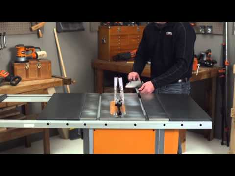 Ridgid How To Video For Table Saws