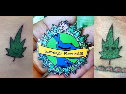 POT LEAF TATTOO FOR MY INTERNET FRIENDS | CoralReefer