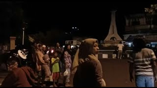 Indonesian residents out on the streets after strong earthquake | AFP
