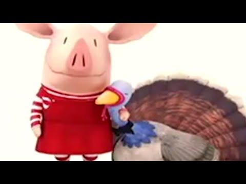 Olivia the Pig   Olivia Talks Turkey   Olivia Full Episodes