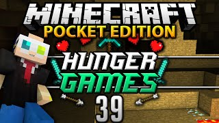 Minecraft Pocket Edition Survival Games: E39   MY FIRST FIST FIGHT!
