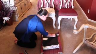 Diy: How To Recover A Chair Seat