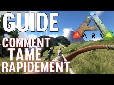 Guide : Comment Tame rapidement   Ark Survival Evolved Tutoriel FR Episode 2