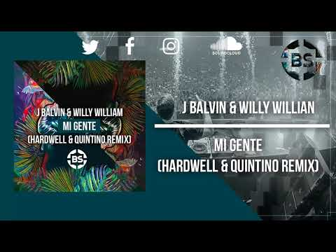 J Balvin  & Willy Willian - Mi Gente (Hardwell & Quintino Remix) [Free Download]