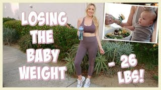 HOW TO LOSE THE BABY WEIGHT MY WEIGHT LOSS JOURNEY! OLIVIA ZAPO