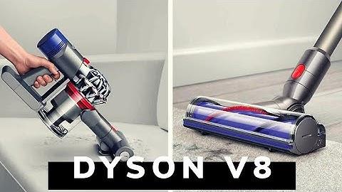 Dyson V8 animal+ распаковка и первые впечатления