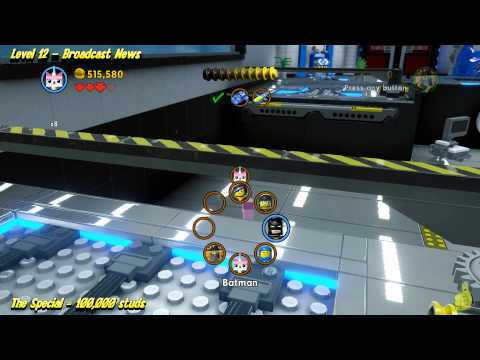 The Lego Movie Videogame: Level 12 Broadcast News - STORY Walkthrough - HTG