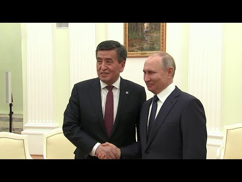 В Кремле состоялись переговоры Владимира Путина с президентом Киргизии Сооронбаем Жээнбековым.